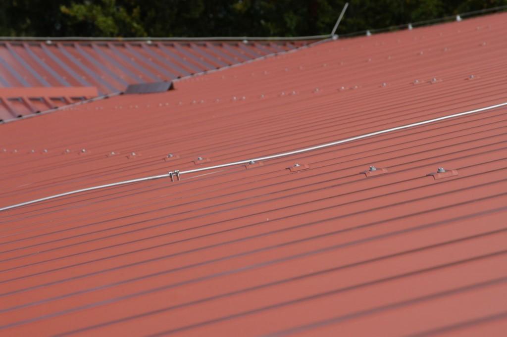Trapezblech-Dach